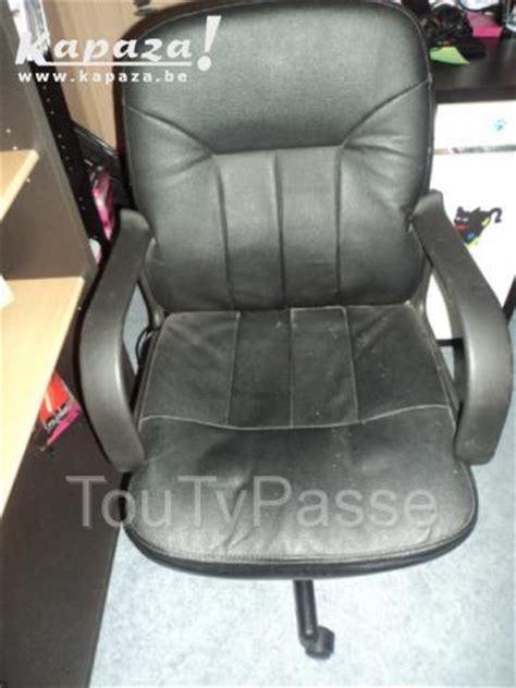 fauteuil de bureau belgique fauteuil chaise de bureau cuir r 233 glable en hauteur hainaut toutypasse be