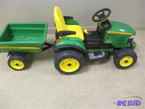 John Deere Tractor Toy Battery
