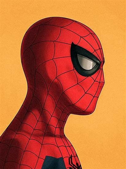 Spider Popsugar Gifs Marvel Mike Mitchell Strip