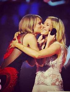 Ellie Goulding Plays Cupid to Taylor Swift and Calvin ...