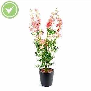 Mini Plante Artificielle : delphinium mini piquet plante artificielle fleurie maison et fleurs ~ Teatrodelosmanantiales.com Idées de Décoration