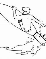Coloring Surfing Pages Surfer Printable Tabla Surf Para Sports Handipoints Wonderful Colorear Pintar Xtreme Getdrawings Colorings Tablas Drawings Fun Template sketch template