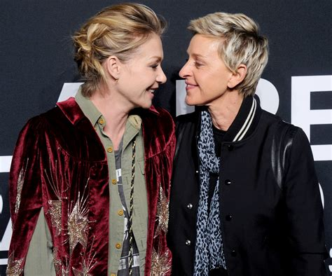 And Portia by Degeneres And Portia De Their Cutest Moments