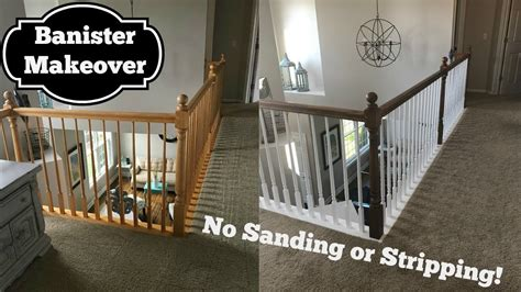 oak banister makeover oak banister makeover gel stain with no stripping