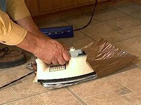 how to fix curling vinyl floor tile how tos diy