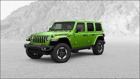 2020 Jeep Wrangler Jl by 2020 Jeep Wrangler Jl Mpg Price Msrp