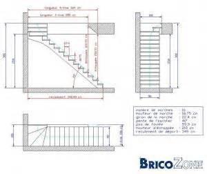 Calcul Escalier Droit by Calcul Escalier Quart Tournant
