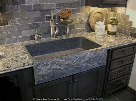kitchen sink with marble top top 5 reasons to install a granite kitchen sink carved