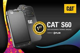 cat phone caterpillar s60 announced as world s smartphone with