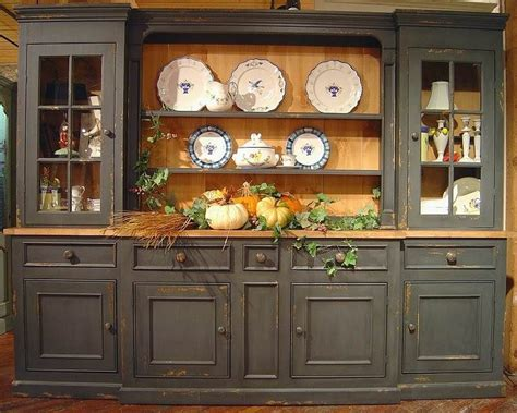 kitchen cabinets used for large 6 section sideboard hutch w 5 drawers 3 cabinets 8157