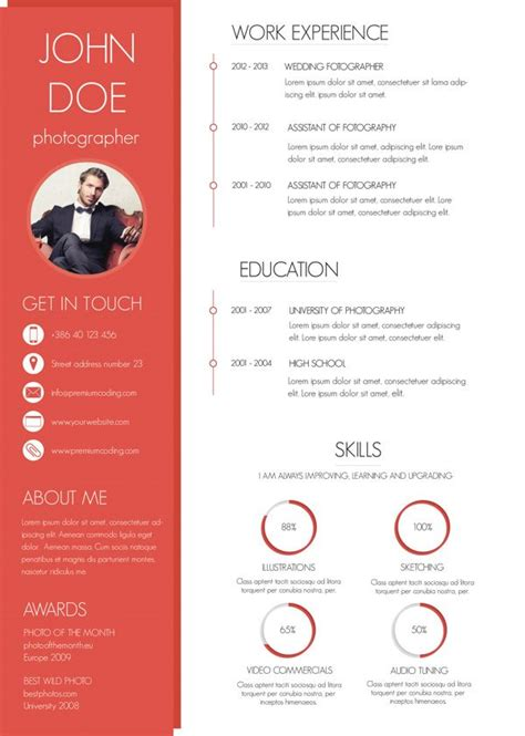 30 Best Images About Templates Anddigital Graphics 30 Best Resume Images On Design Resume Resume
