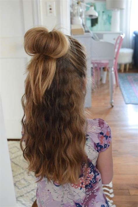 easy  girl hairstyles ideas  pinterest