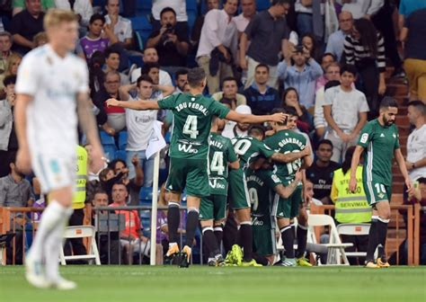 Real Madrid Beaten By Betis On Ronaldo Return