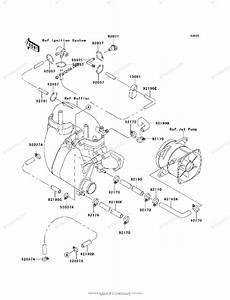 Kawasaki Jet Ski 1995 Oem Parts Diagram For Cooling
