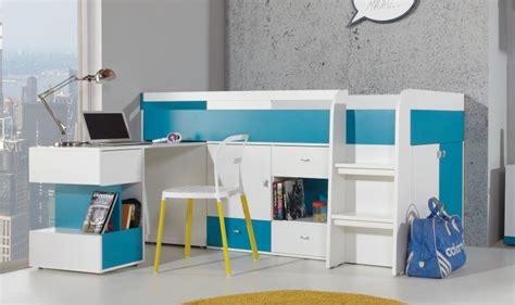 meuble rangement chambre garcon lit enfant avec bureau coulissant et rangements jolly mobilier chambre enfant