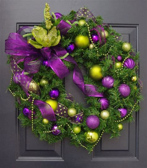 breathtaking purple christmas decorations ideas