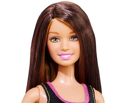 barbie long hair doll brunette