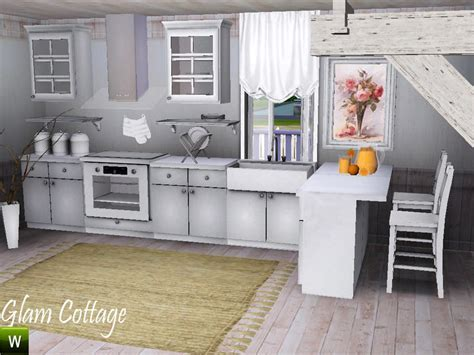 deeiutza's Glam Cottage Kitchen