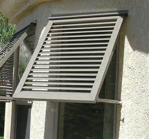 Awning Window Shutters Exterior