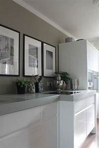 greywhite grey kitchens pinterest grey cabinets With kitchen colors with white cabinets with ready to hang wall art