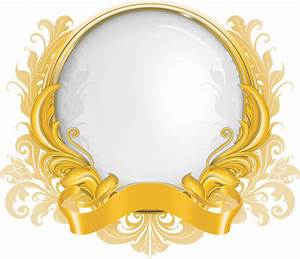 19 Vector Gold Frame Images - Antique Gold Frame, Antique ...
