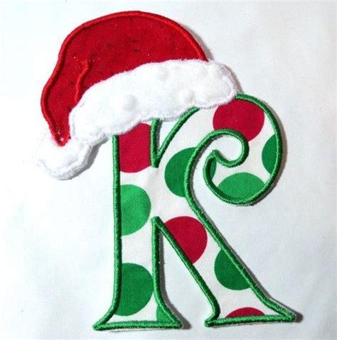 girls christmas initial shirt christmas pinterest