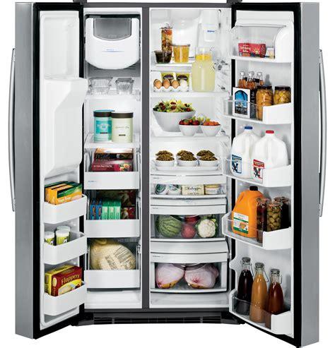 ge profile series energy star  cu ft side  side refrigerator psskshss  appliances