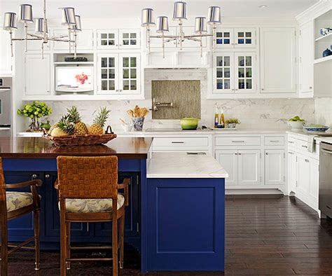 blue and white kitchen cabinets blue kitchen cabinets