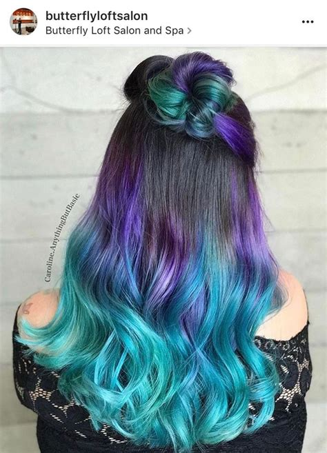 Best 25 Colored Hair Ends Ideas On Pinterest Colored