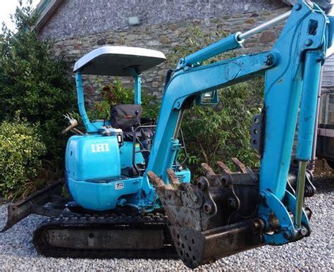 digger bidder  ihi jx mini excavator  tail swing  vat