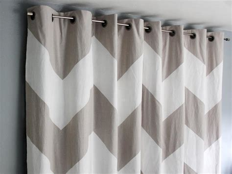 how to paint chevron curtains how tos diy