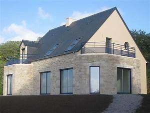 Construction Maison En Pierre : maison pierre cherbourg construction r novation ~ Melissatoandfro.com Idées de Décoration