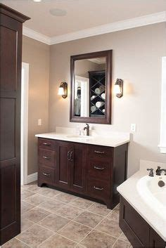 love the dark cabinets with the light marble and tile bathroom ideas pinterest marbles