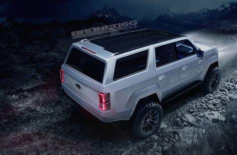 ford bronco  door concept rendering