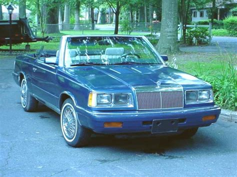 84 Chrysler Lebaron by A G S Chrysler Lebaron Page