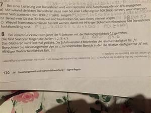 Stochastik Wahrscheinlichkeit Berechnen : stochastik stochastik 7b und 8 2 sigma intervall berechnen mathelounge ~ Themetempest.com Abrechnung