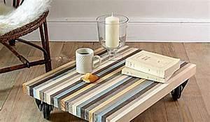 Comment Fabriquer Une Table Basse Pas Cher Le Bois Chez Vous