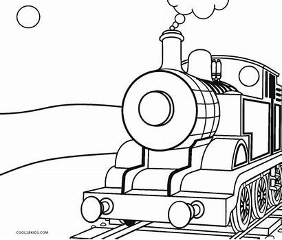 Train Coloring Steam Pages Printable Trains Locomotive