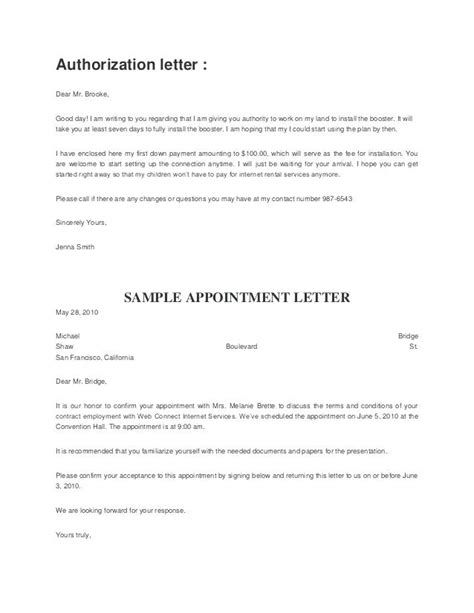 sample authorization letter  transfer ownership