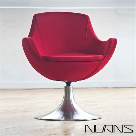 dupont swivel lounge chair nuans modern indoor