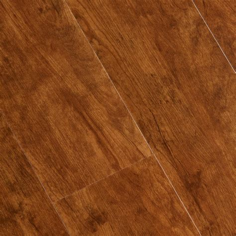 scraped vinyl plank flooring home legend hand scraped laurel cherry 6 mm x 7 1 16 in width x 48 in length vinyl plank