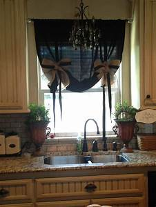 Kitchen curtains burlap ideas for my ideal home for Burlap kitchen curtain ideas