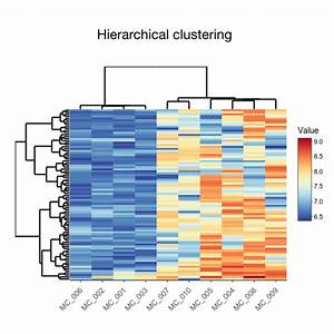 How Can I Generate A Heatmap And Clustering Of