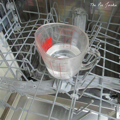 cleaning dishwasher how to clean a stainless steel dishwasher