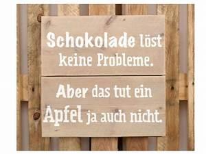 Schilder Mit Sprüchen : schild schokolade l st keine probleme 700 ~ Michelbontemps.com Haus und Dekorationen