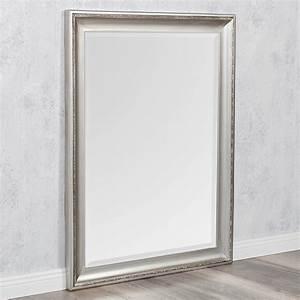 Spiegel 50 X 70 : spiegel copia 70x50cm silber antik wandspiegel barock holzrahmen und facette 789545686923 ebay ~ Bigdaddyawards.com Haus und Dekorationen