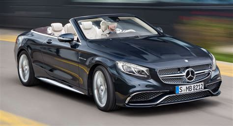 Mercedesamg S65 Cabriolet Breaks Cover With An Explosive