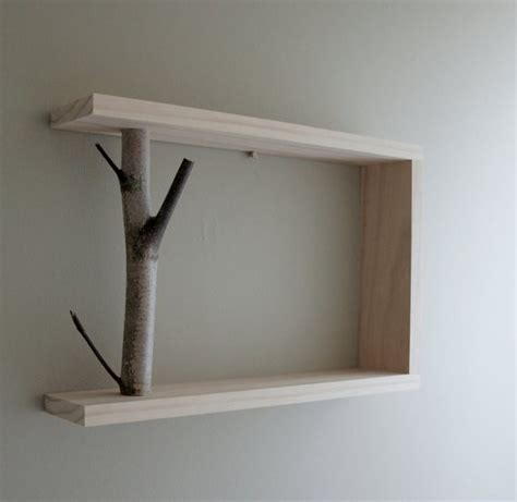 natural wood wall shelves foter
