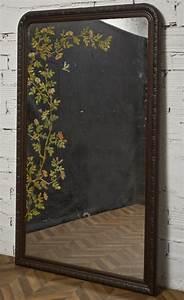 Grand Miroir Vintage : grand miroir vintage objet de decoration unique ancien et vintage ~ Teatrodelosmanantiales.com Idées de Décoration