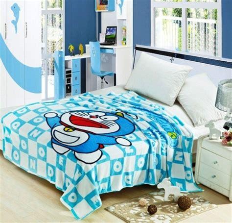 dekorasi kamar tidur tema doraemon